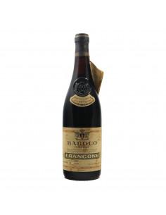 BAROLO RISERVA 1971 FRANCONE Grandi Bottiglie
