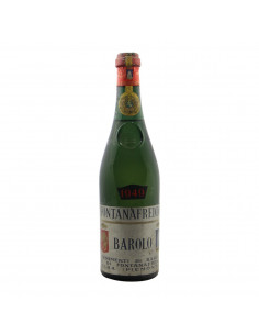 Barolo Clear Colour 1949 FONTANAFREDDA GRANDI BOTTIGLIE