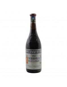 NEBBIOLO DELLE LANGHE 1988 FONTANAFREDDA Grandi Bottiglie