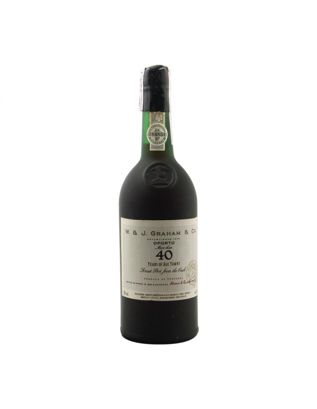 TAWNY PORT AGED 40 YEARS NV GRAHAM'S Grandi Bottiglie