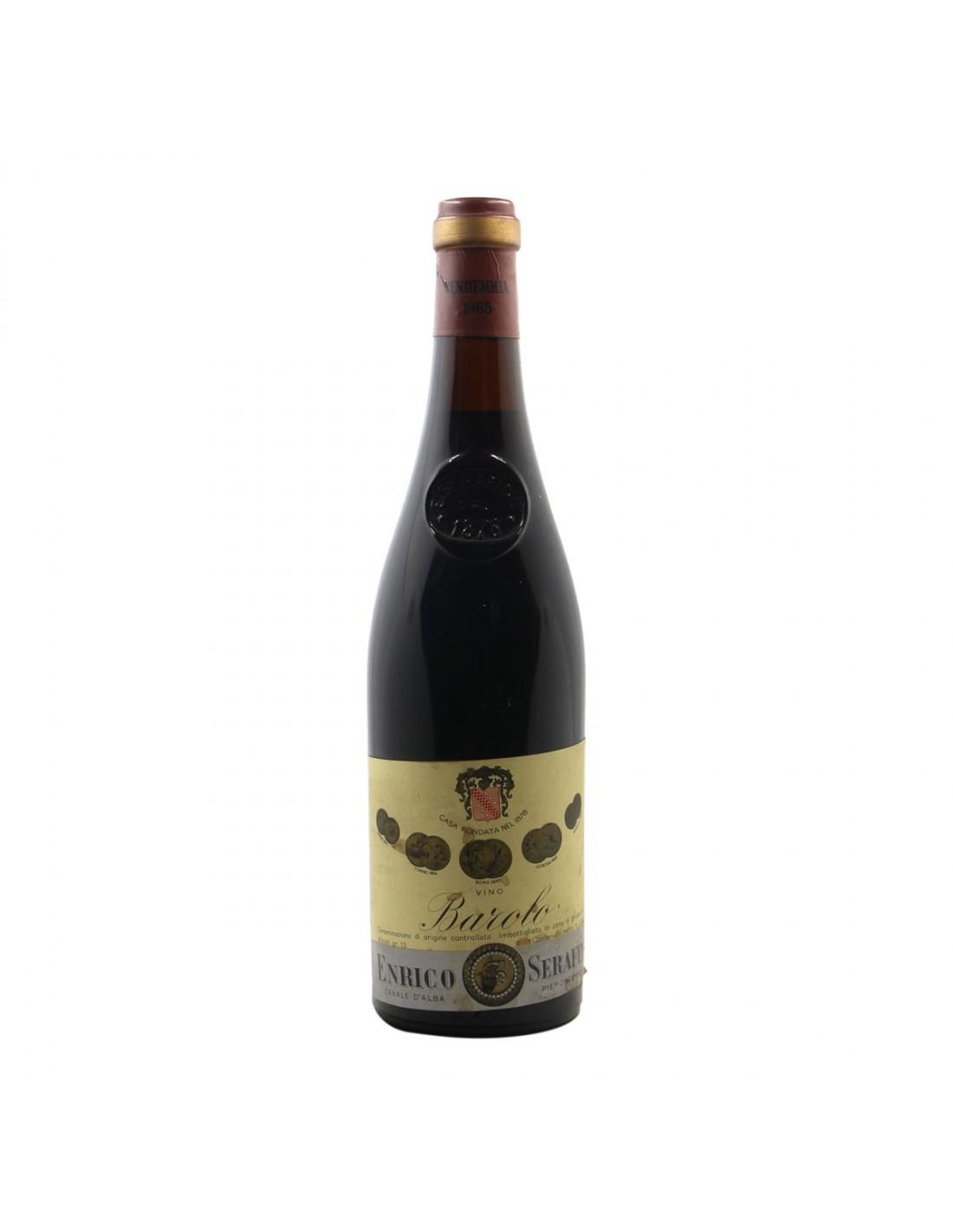 BAROLO 1965 SERAFINO Grandi Bottiglie