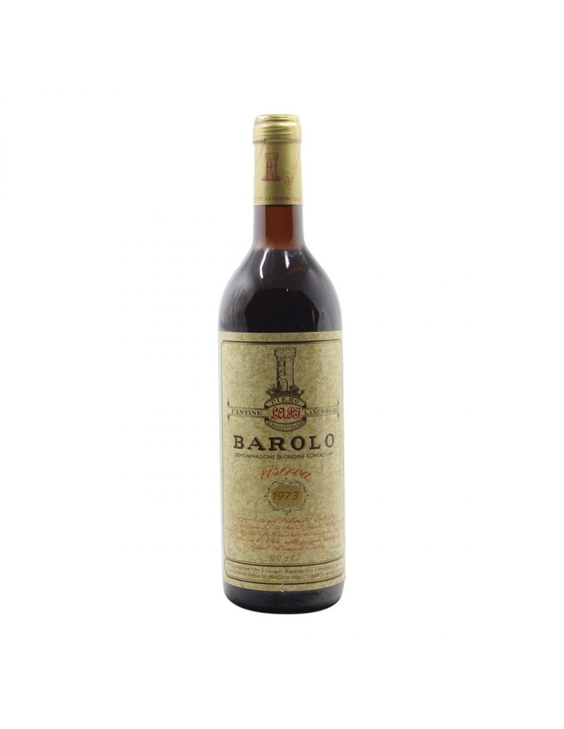 BAROLO RISERVA 1973 CANTINE LANZAVECCHIA Grandi Bottiglie