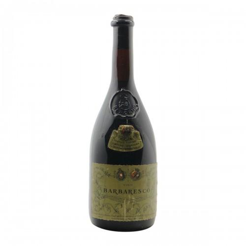 BARBARESCO CONTI DELLA CREMOSINA 1967 BERSANO Grandi Bottiglie
