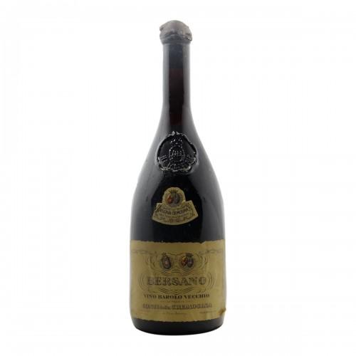 BAROLO RISERVA DELLA CREMOSINA 1951 BERSANO Grandi Bottiglie