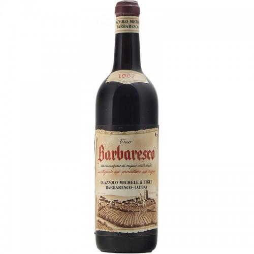 BARBARESCO 1967 MICHELE QUAZZOLO Grandi Bottiglie