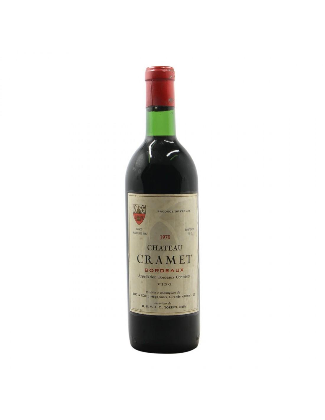 CHATEAU CRAMET 1970 CHATEAU CRAMET Grandi Bottiglie