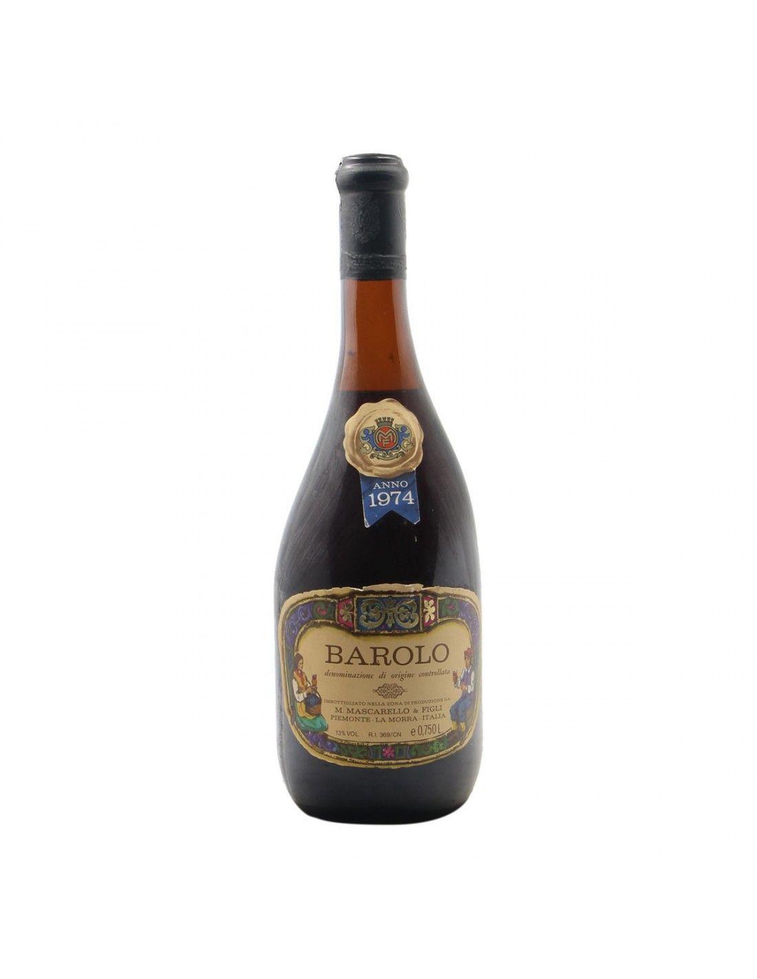 BAROLO 1974 MASCARELLO MAURO Grandi Bottiglie