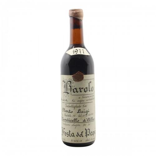BAROLO 1977 OBERTO LUIGI Grandi Bottiglie