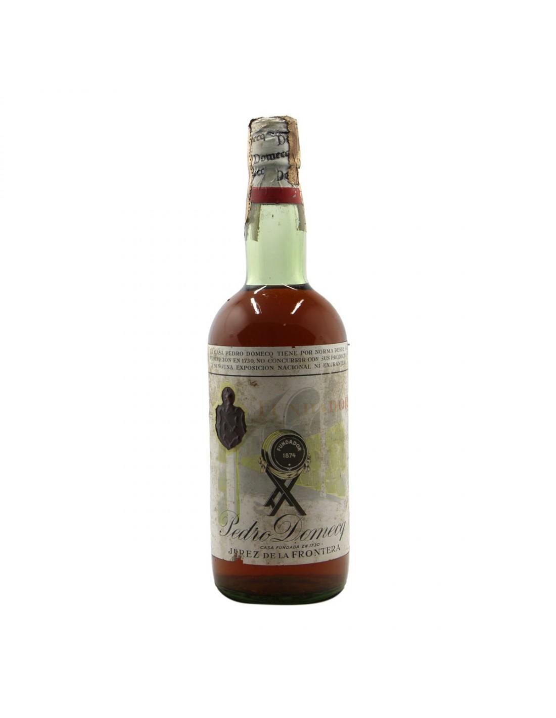 BRANDY OLD FUNDADOR NV PEDRO DOMECQ Grandi Bottiglie