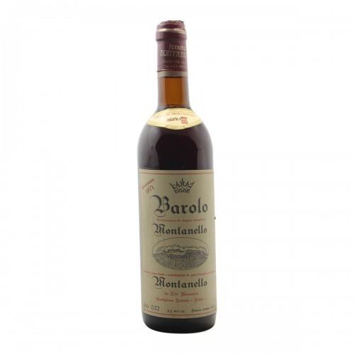 BAROLO 1971 TENUTA MONTANELLO Grandi Bottiglie
