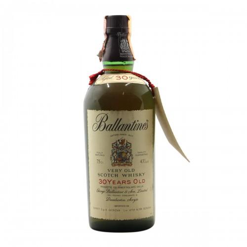 BALLANTINE'S VERY OLD SCOTCH WHISKY 30YO 75CL NV GEORGE BALLANTINE Grandi Bottiglie