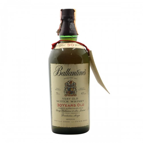 BALLANTINE'S VERY OLD SCOTCH WHISKY 30YO NV GEORGE BALLANTINE