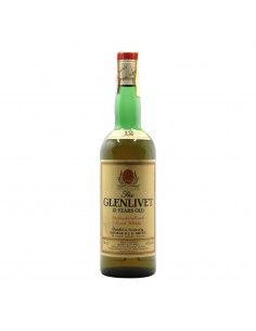 THE GLENLIVET 12 YEARS OLD UNBLENDED ALL MALT SCOTCH WHISKY 43 NV GEORGE & i.g. SMITH LIMITED