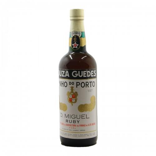 PORTO OLD SOUZA GUEDES RUBY NV D.MIGUEL Grandi Bottiglie
