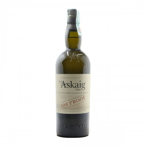 ISLAY SINGLE MALT SCOTCH WHISKY PORT ASKAIG 100 PROOF NV ASKAIG Grandi Bottiglie