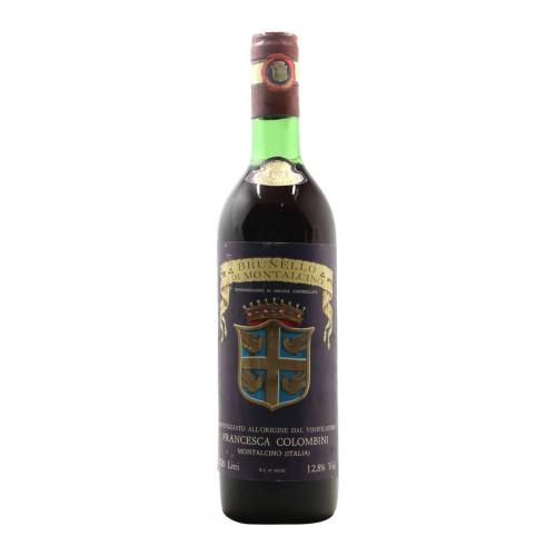 BRUNELLO DI MONTALCINO 1975 COLOMBINI Grandi Bottiglie