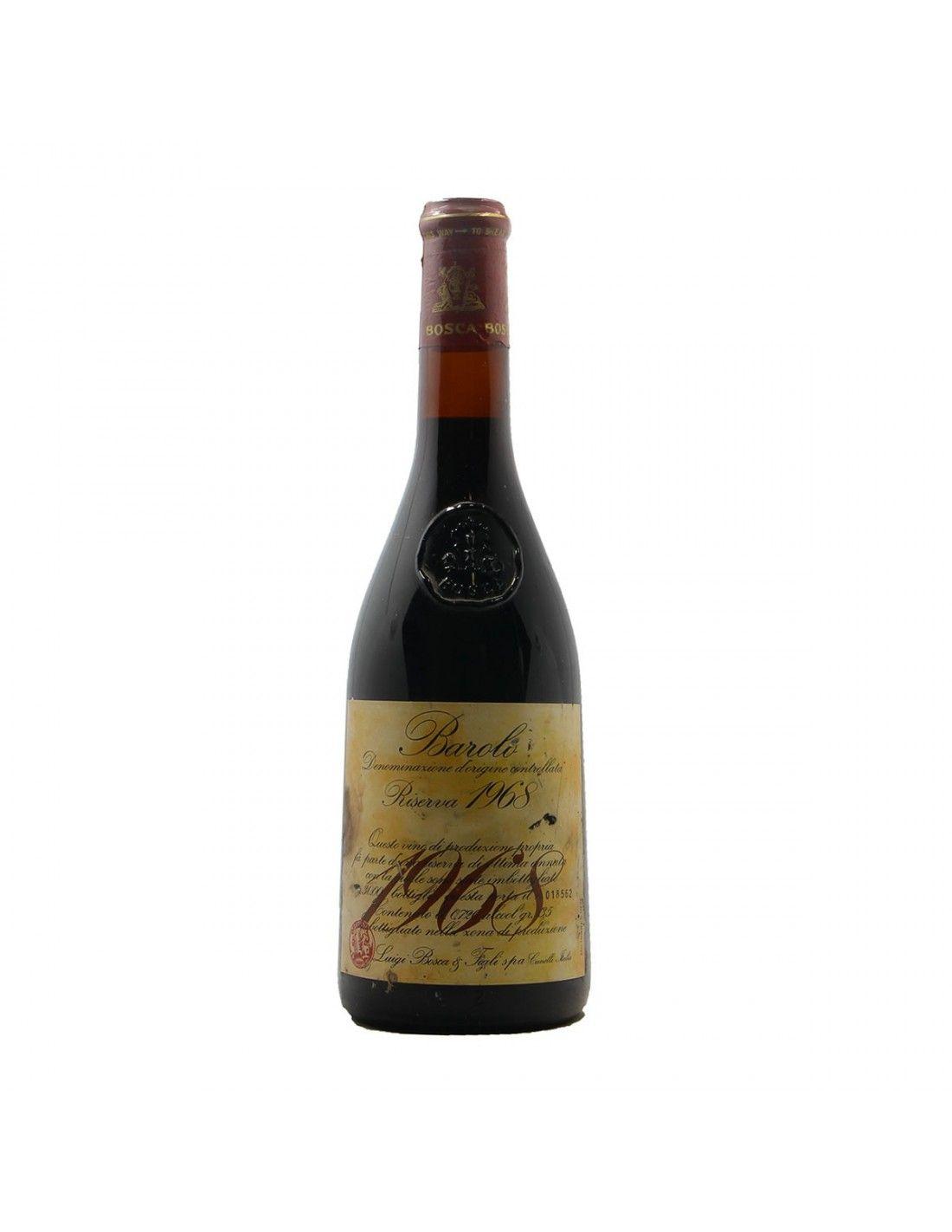 BAROLO RISERVA 1968 LUIGI BOSCA Grandi Bottiglie