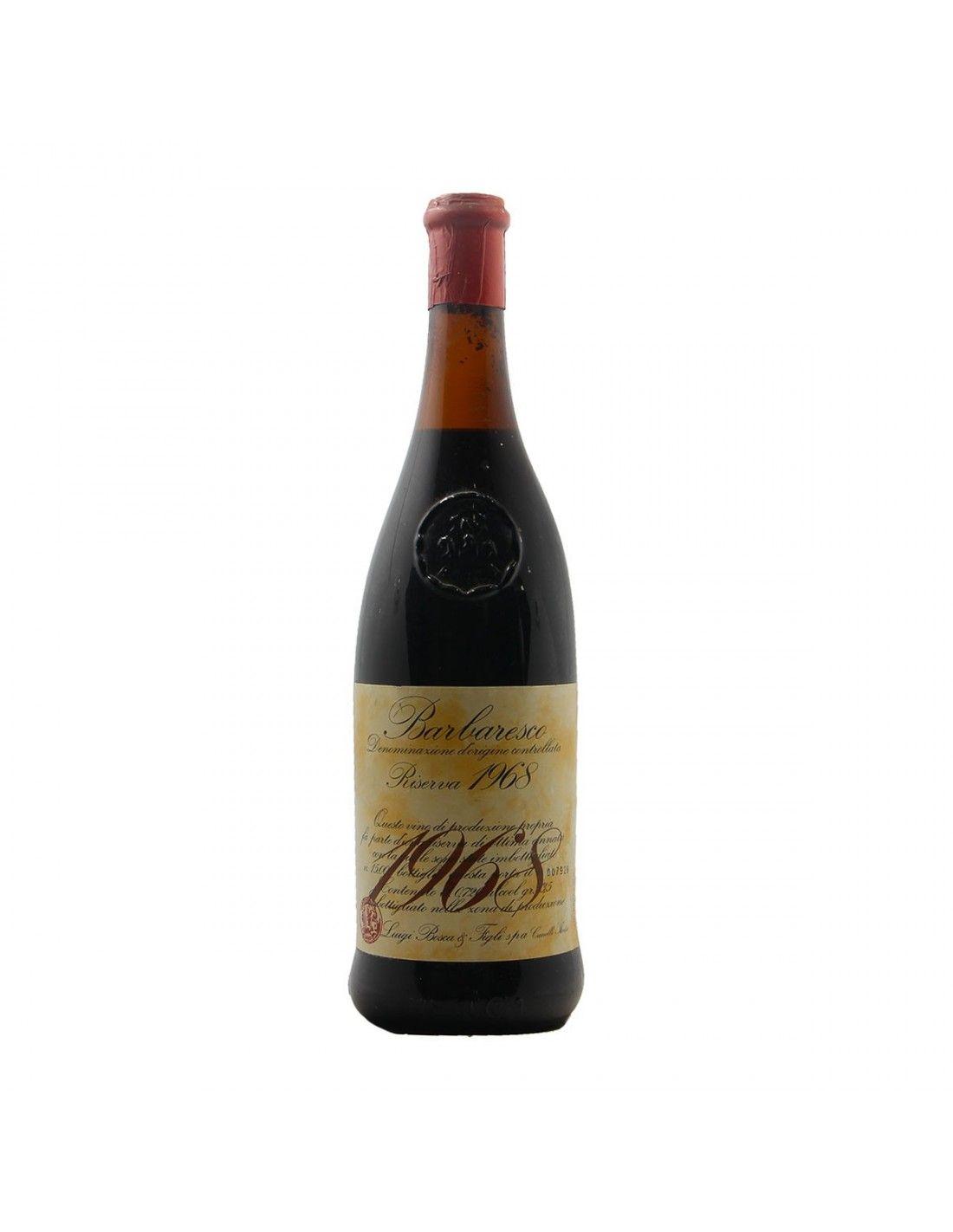 BARBARESCO RISERVA 1968 LUIGI BOSCA Grandi Bottiglie