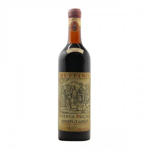 CHIANTI RISERVA DUCALE 1966 RUFFINO Grandi Bottiglie