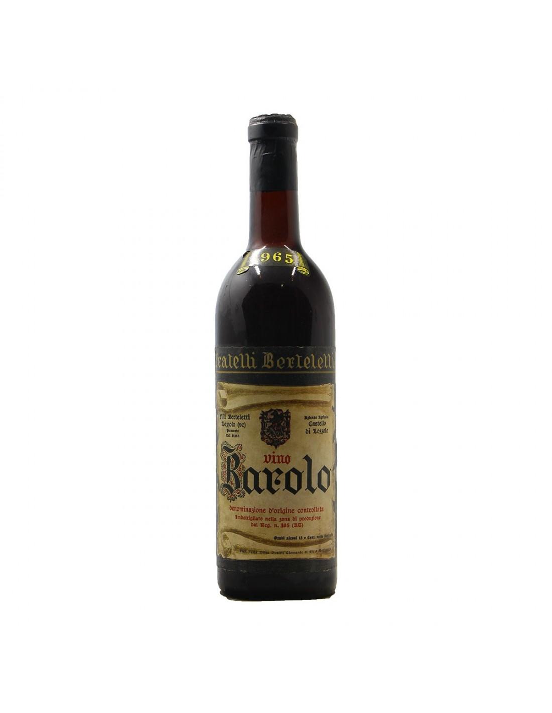 BAROLO CASTELLO DI LOZZOLO 1965 FRATELLI BERTELETTI GRANDI
