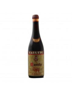 BAROLO RISERVA 1964 CABUTTO Grandi Bottiglie