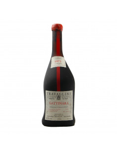 GATTINARA VENDEMMIA NUMERATA CLEAR COLOUR 1971 TRAVAGLINI