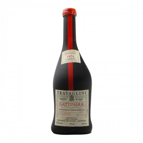 GATTINARA VENDEMMIA NUMERATA 1974 TRAVAGLINI Grandi Bottiglie