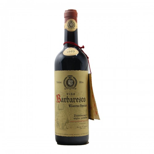 BARBARESCO RISERVA SPECIALE 1965 VALFIERI Grandi Bottiglie
