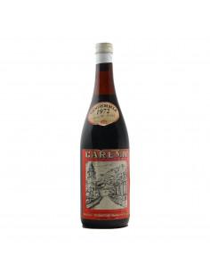 CAREMA 1972 CANTINA DEI PRODUTTORI DI NEBBIOLO DI CAREMA Grandi Bottiglie