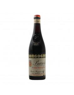 BAROLO RISERVA 1965 BORGOGNO GIACOMO Grandi Bottiglie