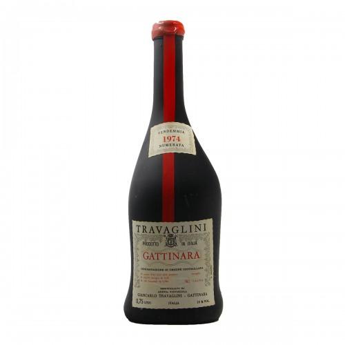 GATTINARA VENDEMMIA NUMERATA CLEAR COLOR 1974 TRAVAGLINI Grandi Bottiglie