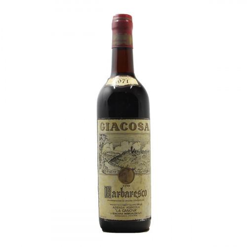 BARBARESCO 1971 LA CA NOVA Grandi Bottiglie