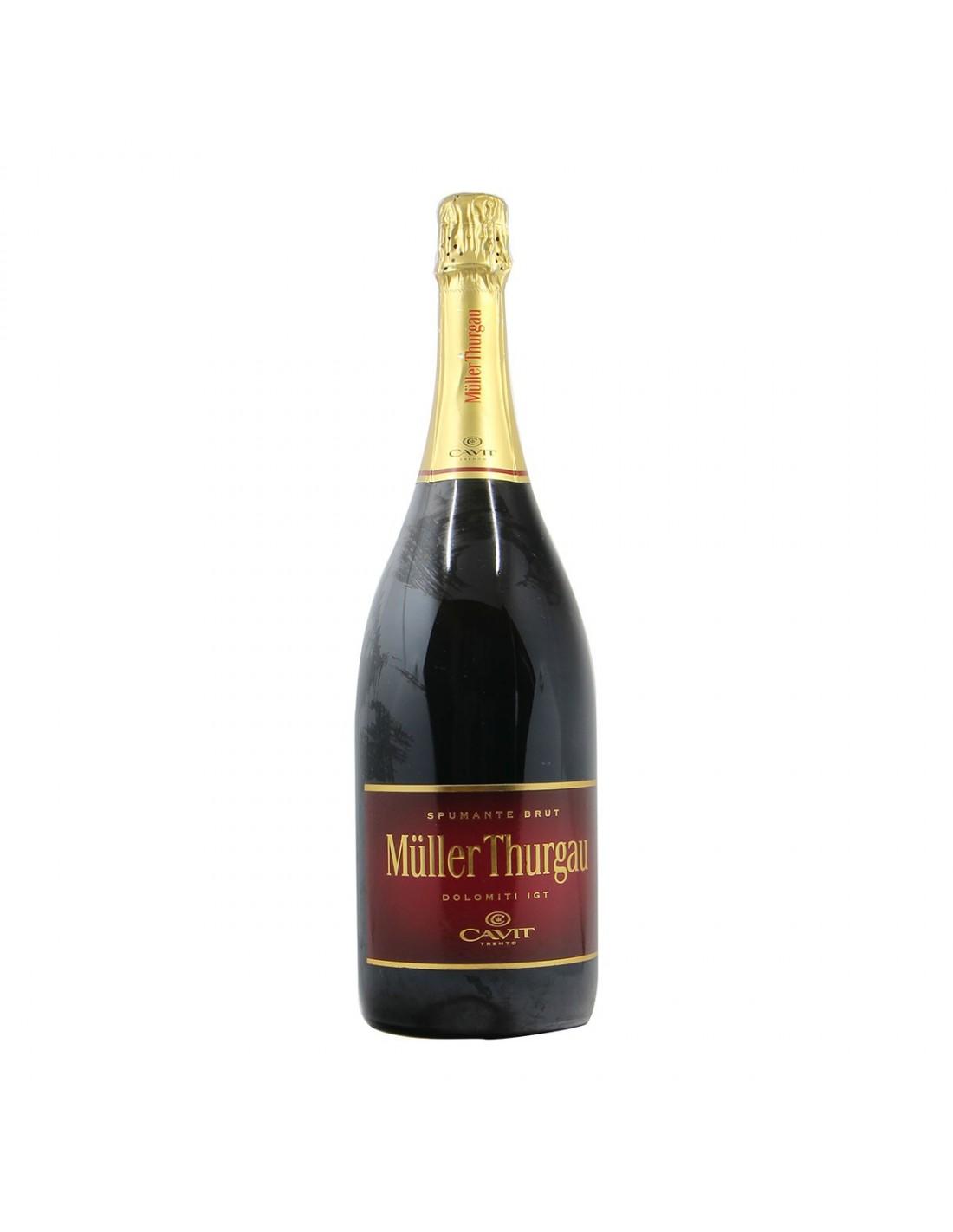 SPUMANTE BRUT MULLER THURGAU MAGNUM NV CAVIT Grandi Bottiglie