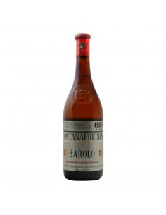 BAROLO CLEAR COLOUR 1971 FONTANAFREDDA Grandi Bottiglie