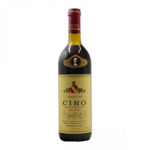 CIRO' ROSSO 1984 VINICOLA ZITO Grandi Bottiglie