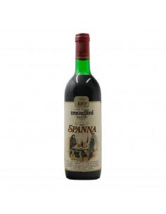 SPANNA RISERVA ET. BIANCA 1967 TRAVAGLINI Grandi Bottiglie