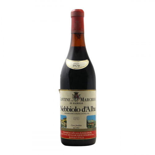 NEBBIOLO D'ALBA 1979 MARCHESI DI BAROLO Grandi Bottiglie