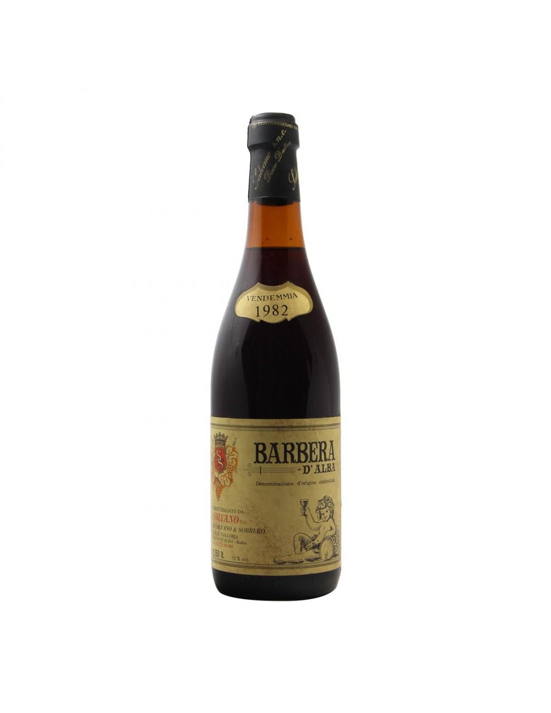BARBERA D'ALBA 1982 SALVANO Grandi Bottiglie