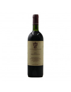 BARBARESCO MARTINENGA 1995 MARCHESI DI GRESY Grandi Bottiglie