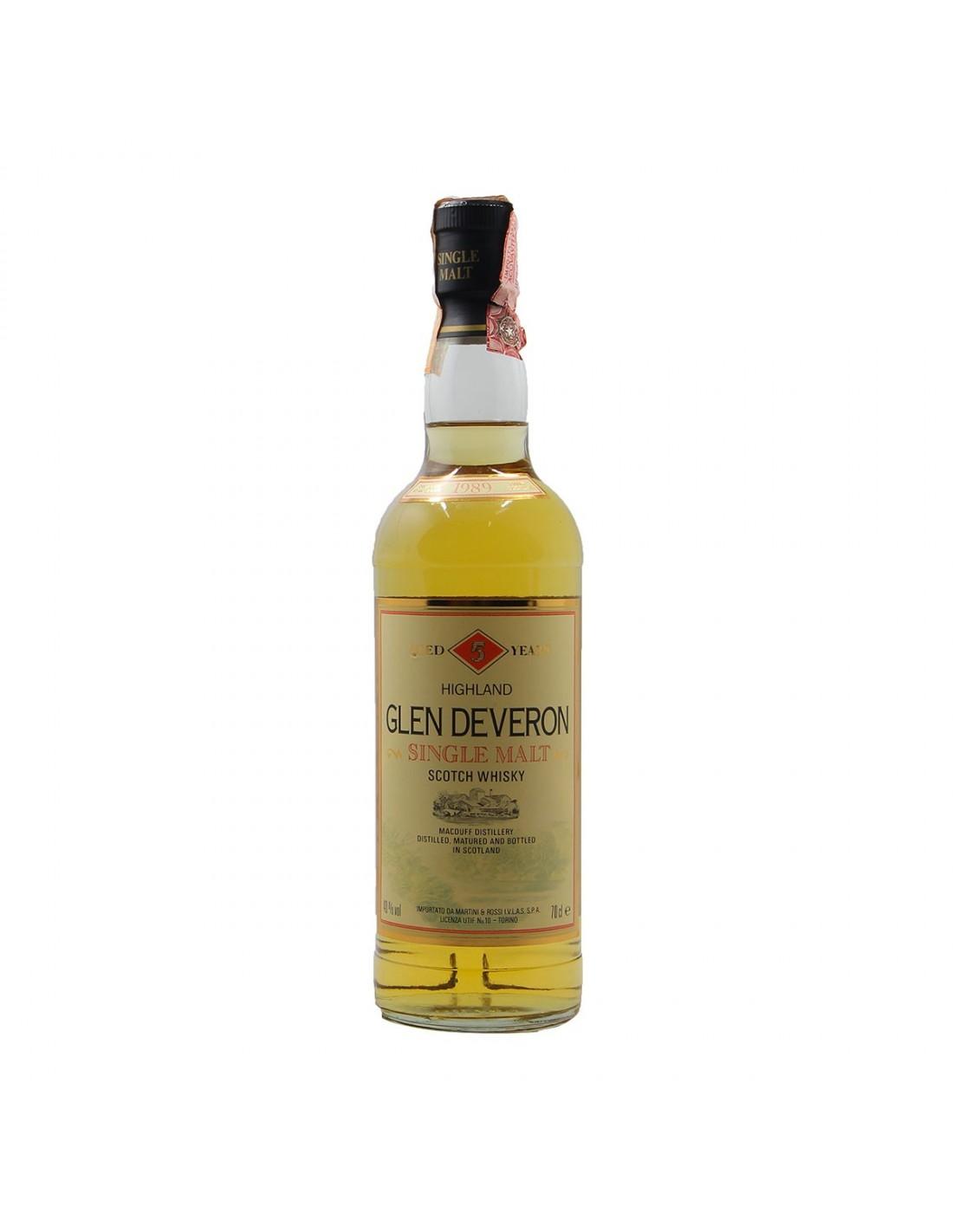 GLEN DEVERON 5YO 75CL 1989 WILLIAM LAWSON'S Grandi Bottiglie