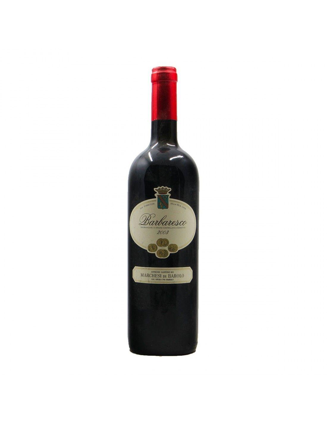 BARBARESCO 2003 MARCHESI DI BAROLO Grandi Bottiglie