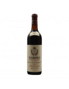 BAROLO 1971 SCHIAVENZA Grandi Bottiglie