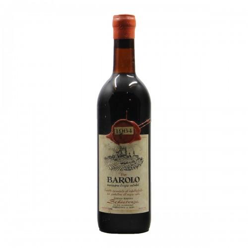 BAROLO 1964 SCHIAVENZA Grandi Bottiglie