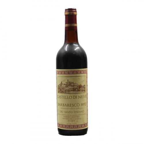 BARBARESCO SANTO STEFANO 1970 CASTELLO DI NEIVE Grandi Bottiglie