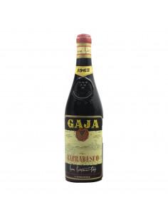 BARBARESCO 1962 GAJA Grandi Bottiglie