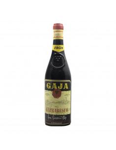BARBARESCO 1958 GAJA Grandi Bottiglie