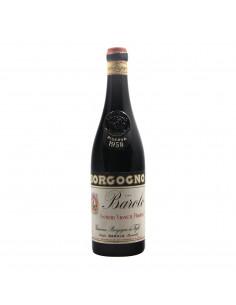Borgogno Barolo Riserva 1958 Grandi Bottiglie