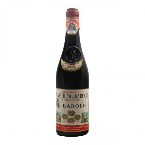 BAROLO 1959 MARCHESI DI BAROLO Grandi Bottiglie