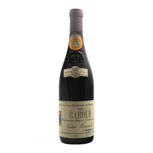 Barolo 1971 BARTOLO MASCARELLO GRANDI BOTTIGLIE