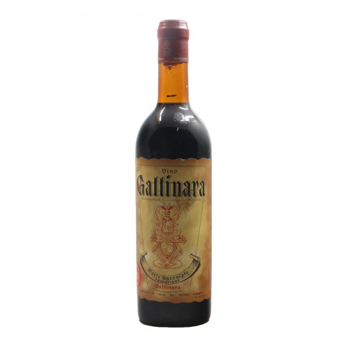 GATTINARA 1961 ANTONIOLO MARIO Grandi Bottiglie